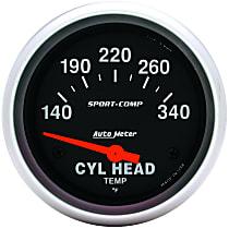 Autometer 3536 Cylinder Head Temperature Gauge - Electric, Universal