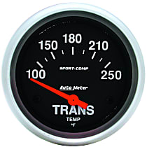 Autometer 3552 Transmission Temperature Gauge - Electric Air-Core, Universal