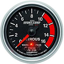 3673 Nitrous Pressure Gauge - Electric, Universal