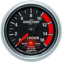 Autometer 3673 Nitrous Pressure Gauge - Electric, Universal