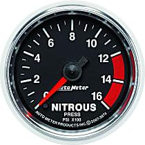 3874 Nitrous Pressure Gauge - Electric, Universal