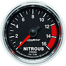 Autometer 3874 Nitrous Pressure Gauge - Electric, Universal