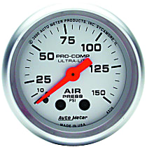 4320 Air Pressure Gauge - Mechanical, Universal, Sold individually