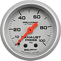 4326 Exhaust Pressure Gauge - Mechanical, Universal