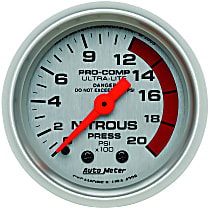 4328 Nitrous Pressure Gauge - Mechanical, Universal