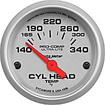 Autometer 4336-M Cylinder Head Temperature Gauge - Electric, Universal