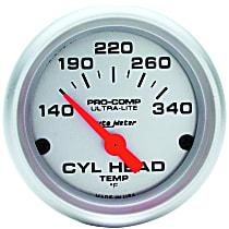 Autometer 4336 Cylinder Head Temperature Gauge - Electric, Universal