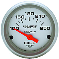 Autometer 4349 Differential Temperature Gauge - Electric, Universal