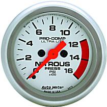 Autometer 4374 Nitrous Pressure Gauge - Electric, Universal