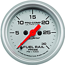 Autometer 4386 Fuel Pressure Gauge - Electric Digital Stepper Motor, Direct Fit