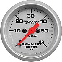 4392 Exhaust Pressure Gauge - Mechanical, Universal