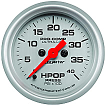 Autometer 4396 Oil Pressure Gauge - Electric Digital Stepper Motor, Direct Fit, Sold individually