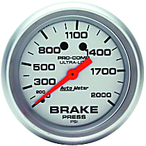 4426 Brake Pressure Gauge - Mechanical, Universal, Sold individually