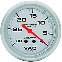 Autometer 4484 Vacuum Gauge - Mechanical, Universal