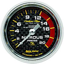 Autometer 4728 Nitrous Pressure Gauge - Mechanical, Universal