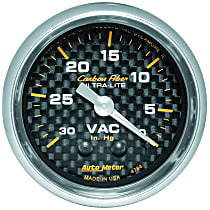 Autometer 4784 Vacuum Gauge - Electric Air-Core, Universal
