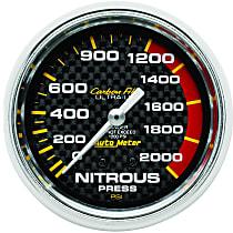Autometer 4828 Nitrous Pressure Gauge - Mechanical, Universal