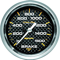 Autometer 4867 Brake Pressure Gauge - Electric, Universal, Sold individually