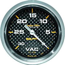Autometer 4871 Vacuum Gauge - Electric Digital Stepper Motor, Universal