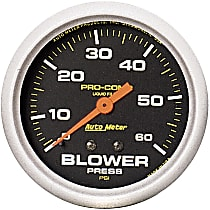 5402 Blower Pressure Gauge - Mechanical, Universal