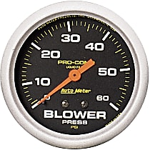 5403 Blower Pressure Gauge - Mechanical, Universal