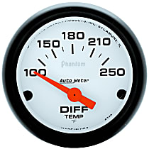 Autometer 5749 Differential Temperature Gauge - Electric, Universal