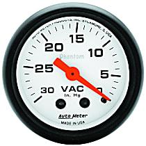 Autometer 5784 Vacuum Gauge - Mechanical, Universal