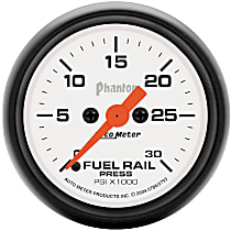 Autometer 5786 Fuel Pressure Gauge - Electric Digital Stepper Motor, Direct Fit