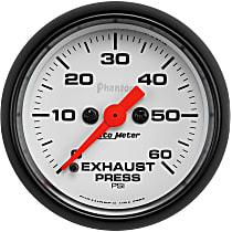 5792 Exhaust Pressure Gauge - Mechanical, Universal