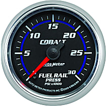 Autometer 6186 Fuel Pressure Gauge - Electric Digital Stepper Motor, Direct Fit