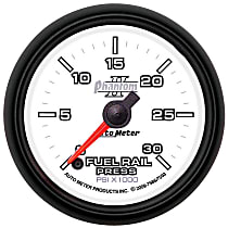 Autometer 7593 Fuel Pressure Gauge - Electric Digital Stepper Motor, Direct Fit