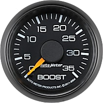 8304 Boost Gauge - Mechanical, Direct Fit, Sold individually