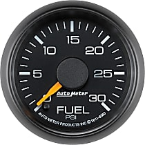 Autometer 8360 Fuel Pressure Gauge - Electric Digital Stepper Motor, Direct Fit
