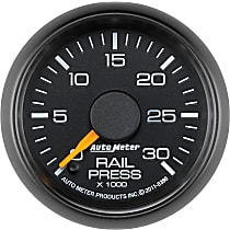 Autometer 8386 Fuel Pressure Gauge - Electric Digital Stepper Motor, Direct Fit