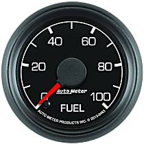 Autometer 8463 Fuel Pressure Gauge - Electric Digital Stepper Motor, Direct Fit