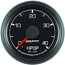 Autometer 8496 Oil Pressure Gauge - Electric Digital Stepper Motor, Direct Fit, Sold individually
