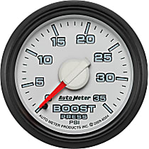 8504 Boost Gauge - Mechanical, Direct Fit, Sold individually