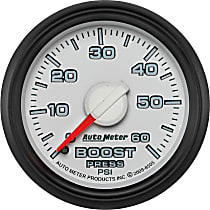Autometer 8505 Boost Gauge - Mechanical, Direct Fit, Sold individually
