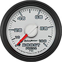 Autometer 8506 Boost Gauge - Mechanical, Direct Fit, Sold individually
