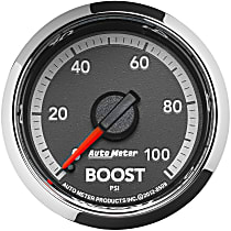 Autometer 8509 Boost Gauge - Mechanical, Direct Fit, Sold individually