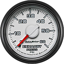 Exhaust Pressure Gauge - Mechanical, Direct Fit
