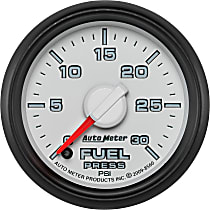 Autometer 8560 Fuel Pressure Gauge - Electric Digital Stepper Motor, May Require Minor Modification