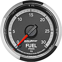 Autometer 8561 Fuel Pressure Gauge - Electric Digital Stepper Motor, Direct Fit