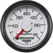 8592 Exhaust Pressure Gauge - Mechanical, Direct Fit