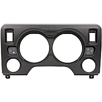 Dash Panel - Black, Direct Fit
