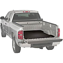 25010349 Bed Mat - Gray, Carpeted, Flat Bed Mat, Direct Fit, Sold individually