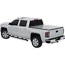 LOMAX Professional Folding Tonneau Cover - Fits approx. 5 ft. Bed