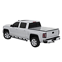 LOMAX Hard Tri-fold Folding Tonneau Cover - Fits approx. 5 ft. Bed