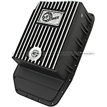 46-70172 Transmission Pan - Powdercoated Black, Aluminum, Deep, Direct Fit, Sold individually