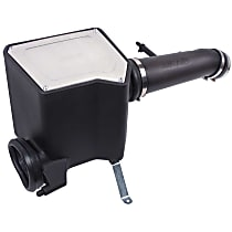 510-340 Cold Air Intake, Oiled Cotton Gauze Filter, Black Plastic Tube
